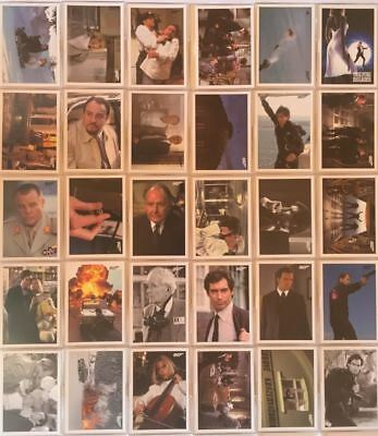 James Bond Archives Spectre The Living Daylights Throwback Card Set 55 Cards