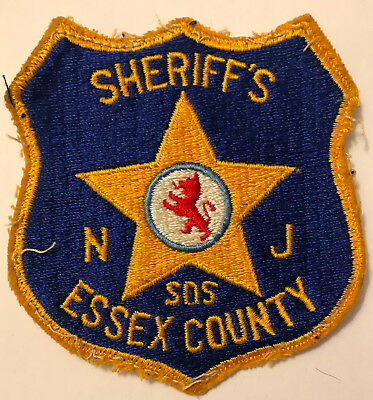 SDS or SOS - Essex County Sheriff New Jersey NJ Police Sheriff Patch