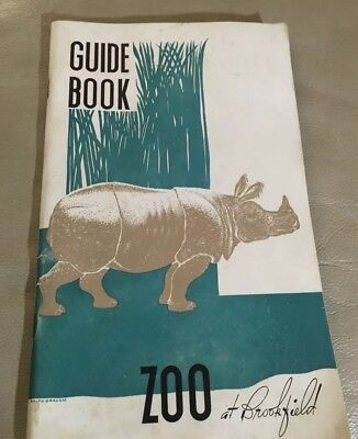 Vintage - Mid Century Chicago Zoological Park - Brookfield Zoo Guide 1950-