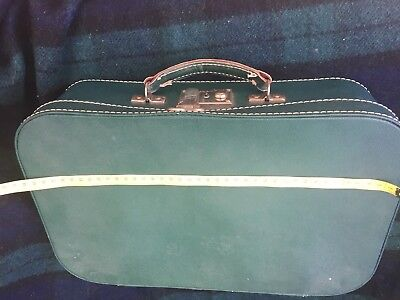 **Vintage retro 50's 60's 1950's 1960's French Vanity Case Set Travel 7 Piece**