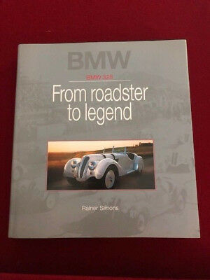 BMW 328 Book FROM ROADSTER TO LEGEND Hardback .