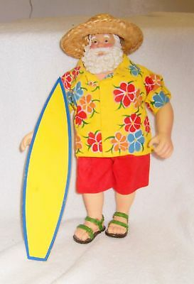 "Clothtique ""Surfing Santa"" - Excellent Condition"