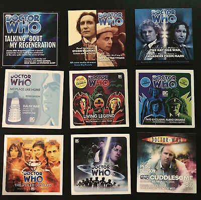 Doctor Who Magazine Big Finish Promo CDs (Complete Set)