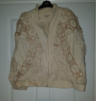 100% Silk, Retro/vintage/boho Jacket From Lim's Shanghai China Size Medium