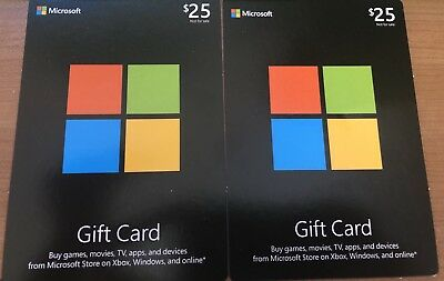 $50 WINDOWS 10 Store (Xbox One) {Marketplace} [Xbox Marketplace] Gift Card