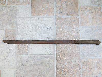 ANTIQUE 19th CENTURY OTTOMAN EMPIRE TURKEY LARGE DAGGER TURKISH KNIFE - RARE