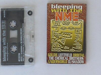 Bleeping With The NME 1996 cassette - DJ SHADOW - LEFTFIELD - ORBITAL - GOLDIE