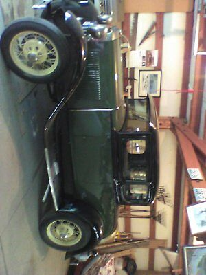 1930 Ford Model A  1930 Ford model A coupe black