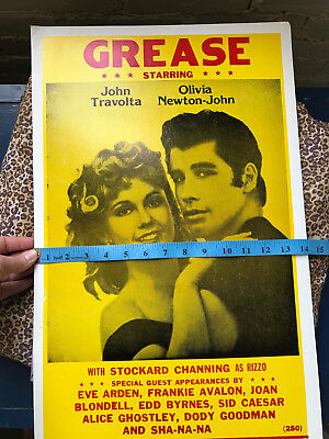 Movie Poster Board, Grease: Starring John Travolta, Olivia Newton-John