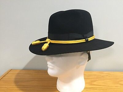 e37a54c07 US MILITARY ARMY Military Cavalry Hat Size 6-5/8 Stetson clone - PRE SHAPED