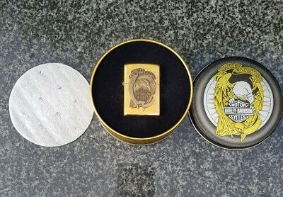 Zippo Harley Davidson, Limited Edition, Solid Brass (Very Rare)