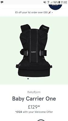 Baby Bjorn 'One' baby carrier