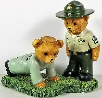 Marine Corps Boot Camp Bears Collection Give me 20! From the Faithful Fuzzies