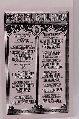 Crystal Ballroom Big Brother And The Holding Company Schedule