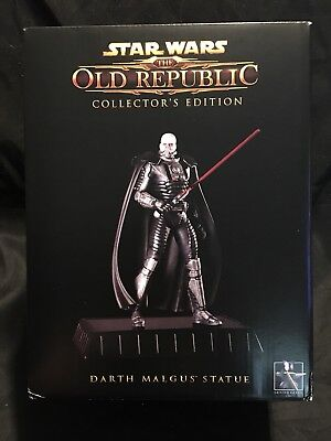 Star Wars The Old Republic Darth Malgus Gentle Giant Collectible Statue New Mib