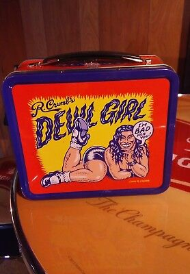 R. Crumb Devil Girl Lunchbox 2000 Dark Horse Comics with Postcard
