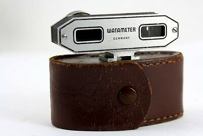 WATAMETER SUPER rangefinder, working