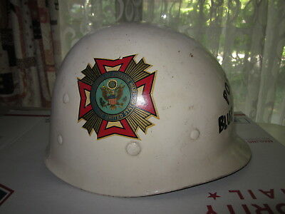 WW2 US Army helmet liner made by Westinghouse with VFW markings !!!