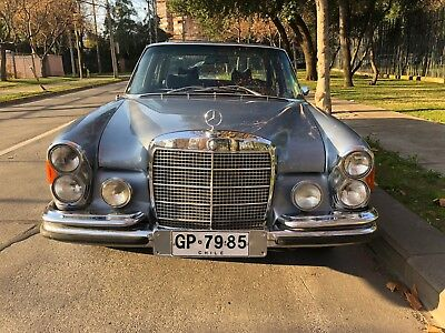 1969 Mercedes-Benz 300sel 6.3  1969 MERCEDES BENZ W109 300 SEL 6.3 EARLY EURO SPEC, UNRESTORED VERY LOW MILES