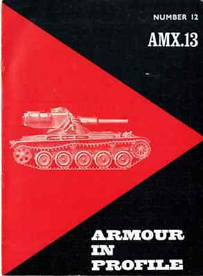 Armour in Profile • Number 12 • AMX.13 Tank (Char 13t-75 Model 51)