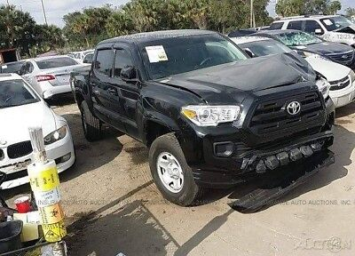 2017 Toyota Tacoma SR5 4x2 4dr Double Cab 5.0 ft SB 2017 SR5 4x2 4dr Double Cab 5.0 ft SB Used Damaged, wrecked, project, repairable