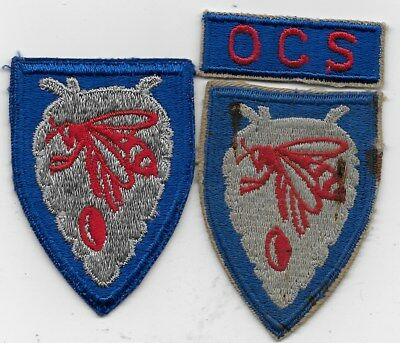 Two North Carolina Ng Patches One With Ocs Tab