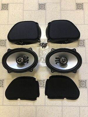 Harley Davidson HOGTUNES speakers for Road Glide