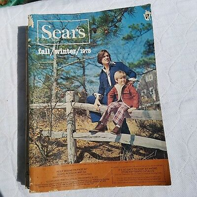 Vintage 1975 Fall & Winter Sears & Roebuck Catalog