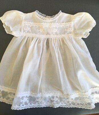 Vintage 1960s Baby Dress Size OO