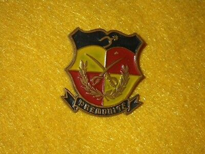 ORIGINAL WWII 1st Cavalry Recon Troop DI/DUI, Painted, Lauer, SB, German-made