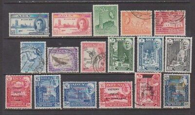Aden Mint & Used Collection of Early Colonial Issues