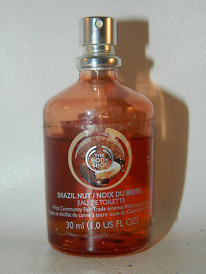 The Body Shop Brazil Nut 1 Oz Perfume Eau de Toilette 30 ML Spray EDT 70
