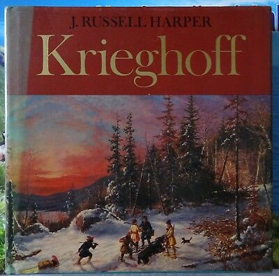 Krieghoff Hardcover Canadian Art Book with Dust Jacket