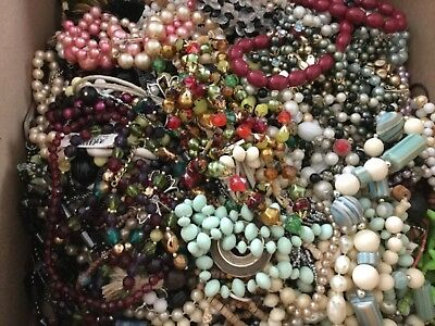 Huge jewelry lot of necklaces
