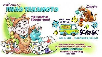 Dave Bennett Cachetoons Celebrating Iwao Takamoto The Father of Scooby Doo