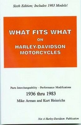 What Fits What on Harley-Davidson 1936 thru 1983
