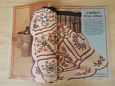 McCall's Needlework & Crafts~June 1984~Crochet~Quilt~Embroidery~Dolls~Knit~Sew