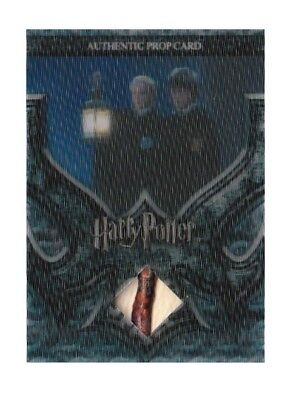 Harry Potter Prop Card Draco Malfoy's Lantern LOW #014/240 3D P1