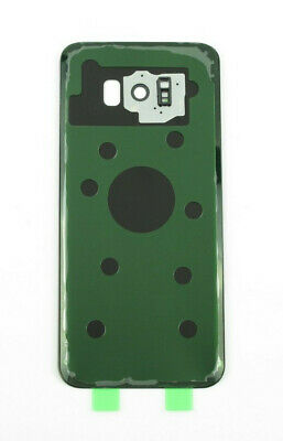 Original Glass Battery Back Cover with Camera Lens For Samsung Galaxy S8 Plus