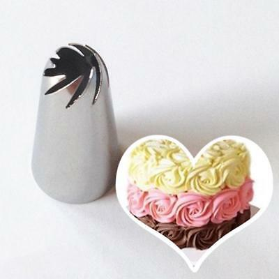 Pastry Nozzle Spiral Icing Piping Cream Cake Decorating Tip Sugar-craft Tool 1Pc
