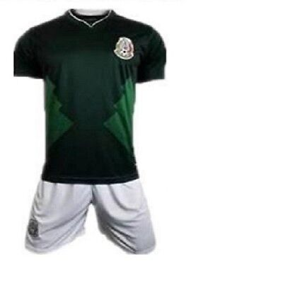 ac8c47e39 New With Tags World Cup 2018 Mexico Home Kids Jersey   Shorts Set Youth  Sizes