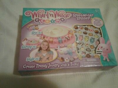 Whirl n Wear Charm Maker with Spinner ages 5 and up