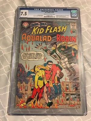 Brave and the Bold #54 CGC 7.5 DC 1964 1st Teen Titans Robin, Aqualad