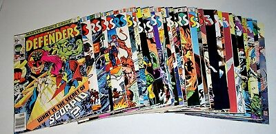 Defenders Thirty-Two (32) Comics #48 To #152 Range  Bronze Age Marvels