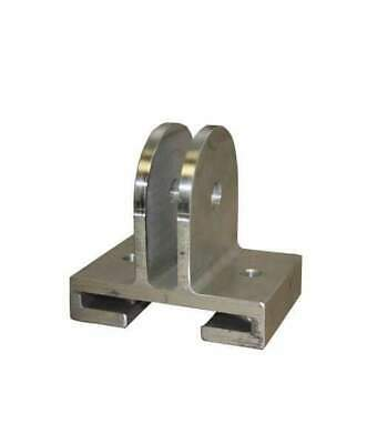 (2-Pack) Aluminum Sheave Housing for I-Beam, Will fit I-Beam with 4″ Flange