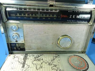 Rough Looking, Working ZENITH ROYAL 3000-1 TRANS-OCEANIC RADIO - Works!