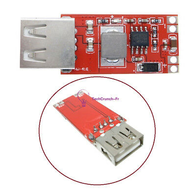 DC-DC Buck Module 12V/24V to 5V 3A USB Step Down Power Supply For Car Charger NW