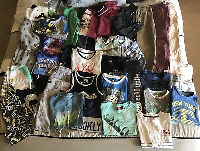 Boys Bulk Size 7/8 Clothing Summer/winter Lot Loads Of Great Brands Free Post