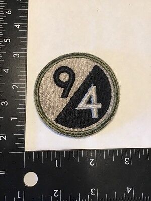 Original WW2 WWII US Army 94th Infantry Division Patch