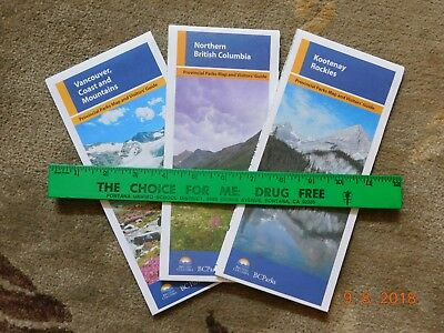Vancouver & British Columbia Park Maps - 3 Canada Maps - Recent Issues